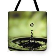Water Drop And Ripples Tote Bag