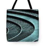 Water Feature - Aqua  Tote Bag