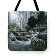 Water Flowing In A Garden, St. Fiachras Tote Bag