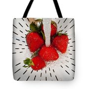 Water For Strawberries Tote Bag