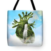 Water From The Heart Tote Bag