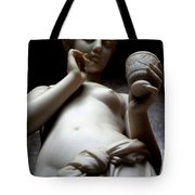 Water Girl With Cup Tote Bag