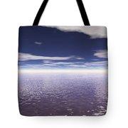 Water Horizon Tote Bag