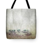 Water Pattern On Old Paper Tote Bag by Setsiri Silapasuwanchai