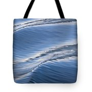 Water Patterns Of Boat Wake Tote Bag