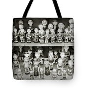 Water Puppets Tote Bag