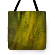 Water Reflection Abstract Autumn 1 A Tote Bag
