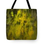Water Reflection Abstract Autumn 1 E Tote Bag