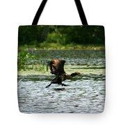 Water Run  Tote Bag