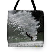 Water Skiing 20 Tote Bag