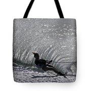 Water Skiing 3 Tote Bag