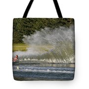 Water Skiing 4 Tote Bag