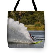 Water Skiing 6 Tote Bag