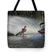 Water Skiing 8 Tote Bag