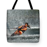 Water Skiing Magic Of Water 15 Tote Bag