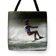 Water Skiing Magic Of Water 16 Tote Bag