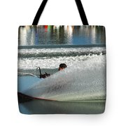 Water Skiing Magic Of Water 17 Tote Bag