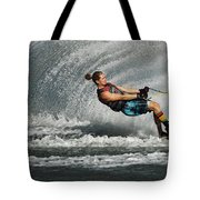 Water Skiing Magic Of Water 23 Tote Bag