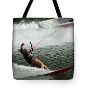 Water Skiing Magic Of Water 28 Tote Bag
