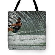 Water Skiing Magic Of Water 3 Tote Bag