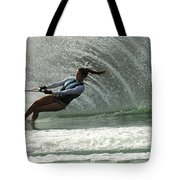 Water Skiing Magic Of Water 32 Tote Bag
