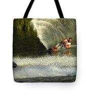 Water Skiing Magic Of Water 33 Tote Bag