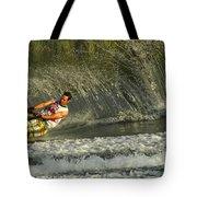 Water Skiing Magic Of Water 8 Tote Bag
