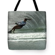 Water Skiing Magic Of Water 9 Tote Bag