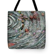 Water Spiral  Tote Bag