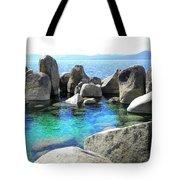 Water Stonehenge Lake Tahoe Tote Bag