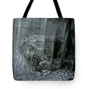 Water Wall And Whirling Bubbles Tote Bag