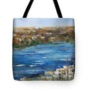 Water Way Tote Bag