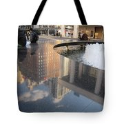 Lincoln Center Reflections Tote Bag