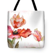 Watercolor Background Tote Bag