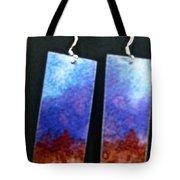 Watercolor Earrings Artists Favorite Tote Bag