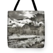 Watercolor In Black And White Tote Bag