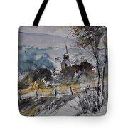 Watercolor Lesterny Tote Bag