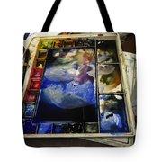 Watercolor Palette Tote Bag