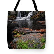 Waterfall Childs State Park Tote Bag