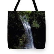 Waterfall In A Forest, Glencar Tote Bag