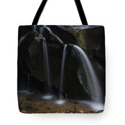Waterfall On Emory Gap Branch Tote Bag