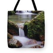 Waterfall, Peter Lougheed Provincial Tote Bag