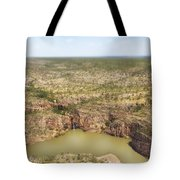 Waterfall Twins Tote Bag