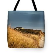 Waterfront Beach Cottage Tote Bag
