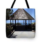 Waterfront Gazebo Tote Bag