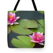 Waterlillies Tote Bag