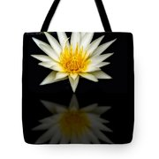 Waterlily And Reflection Tote Bag