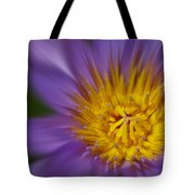 Waterlily Zoom Tote Bag