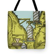 Watermill Reversed Archimedean Screw Tote Bag