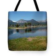 Waters Lead To Lake Tahoe Tote Bag